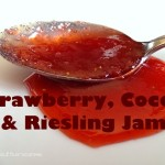 Pectin-Free Strawberry Cocoa Riesling Freezer Jam