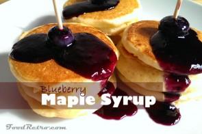 Pure Blueberry Vanilla Maple Syrup