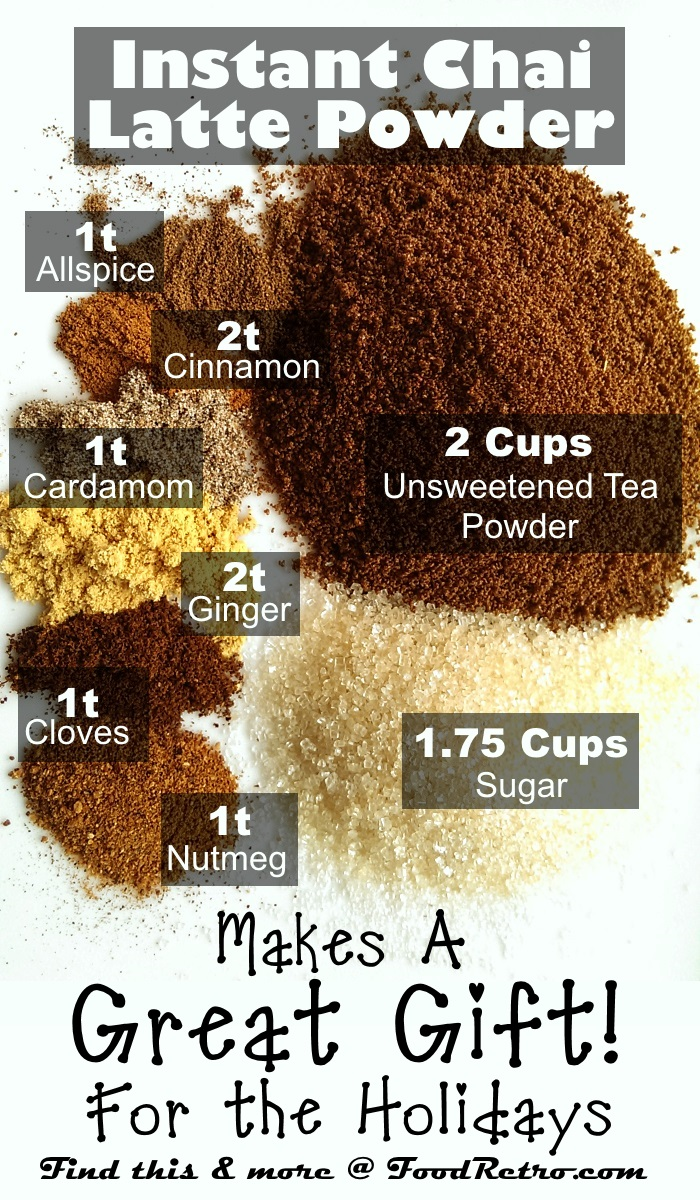 How to Make Homemade Instant Chai Tea Latte Powder